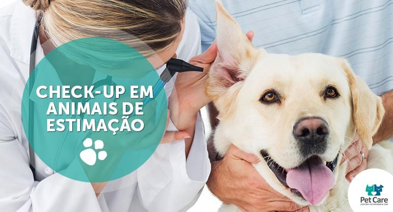 check up pet1 - Check-up em animais de estimação
