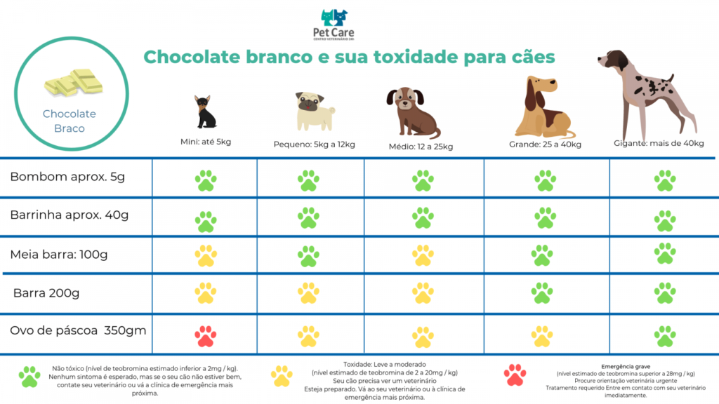 chocolate branco mata caes 1 1024x576 - Tabela de toxidade de chocolate para cachorro