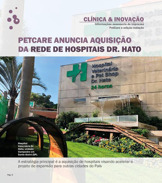 15769362361246 normal1 - Revista Vet & Share- Pet Care anuncia aquisição da rede de hospitais Dr. Hato