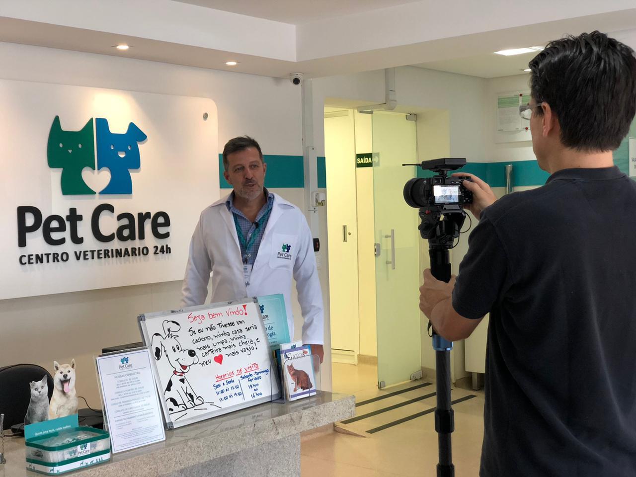 whatsapp image 2020 02 20 at 17 33 24 - Reportagem da Rede TV explica o coronavírus em cães e gatos