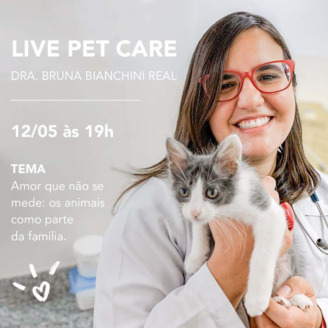 whatsapp image 2020 05 08 at 15 55 29 1 - Live Pet Care no Instagram dia 12/05 às 19h