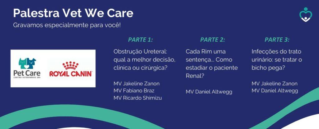 whatsapp image 2020 06 05 at 12 30 17 1024x414 - Assista a Palestra Vet We Care Doenças do Trato Urinário. É gratis!