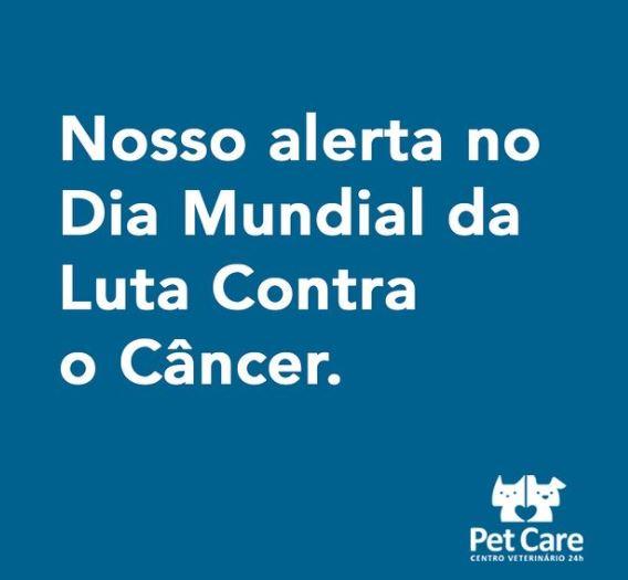 04 02 2021 - DIA MUNDIAL DA LUTA CONTRA O CANCER