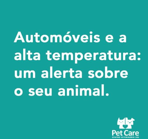 2 1 21 - Esse alerta é muito importante! Os animais não transpiram como os humanos.