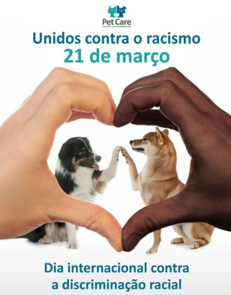 unidos contra o racismo - Dia Internacional Contra a Discriminação Racial