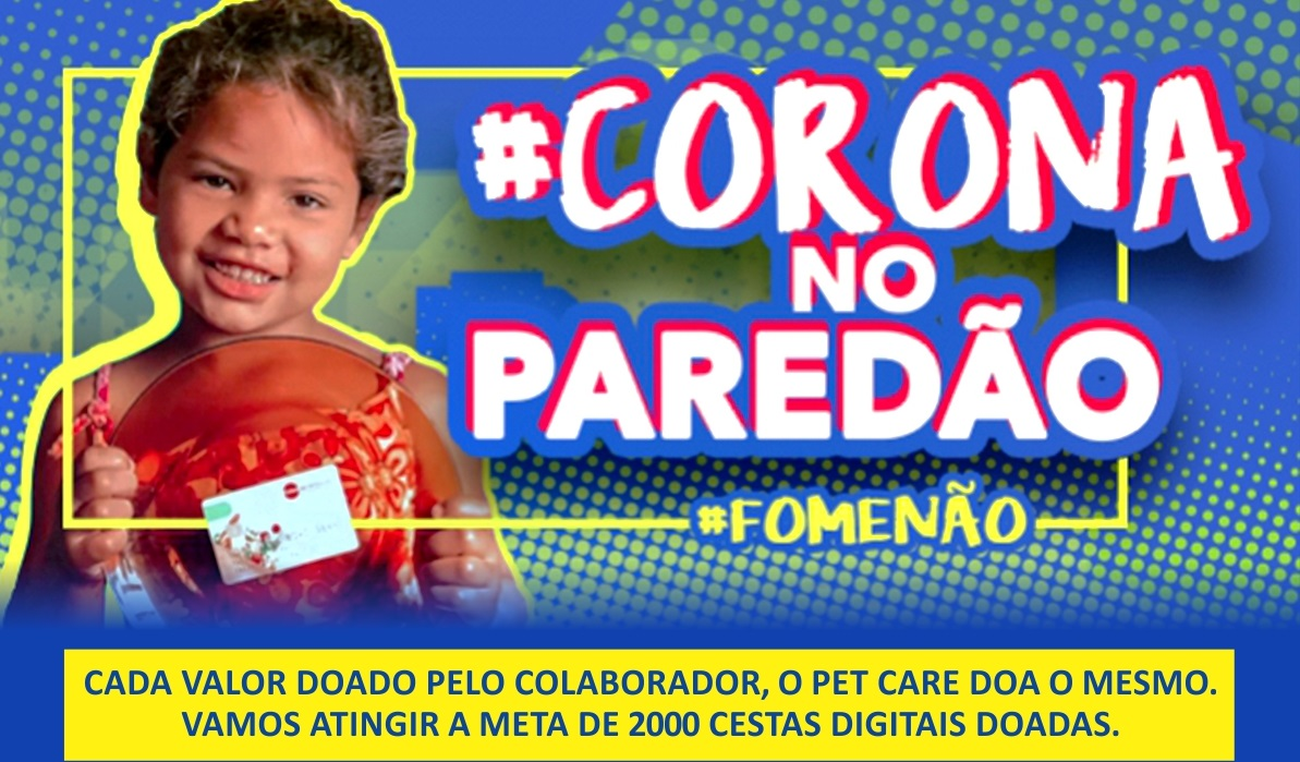 corona no paredao - #CoronanoParedão #FomeNão