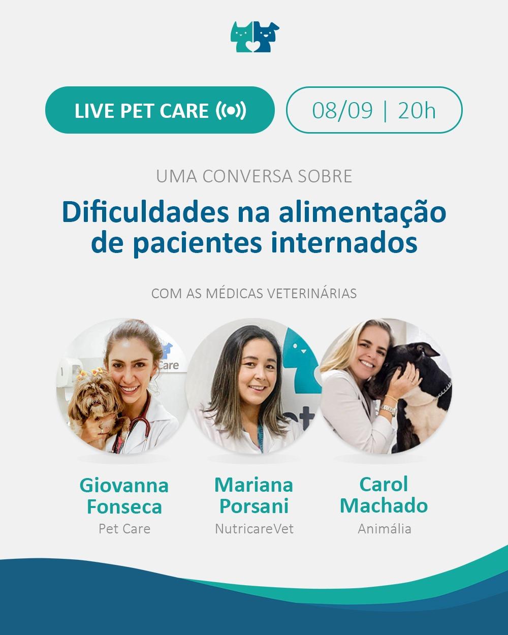 whatsapp image 2021 08 27 at 14 02 49 - Live: Dificuldades na alimentação de pacientes internados
