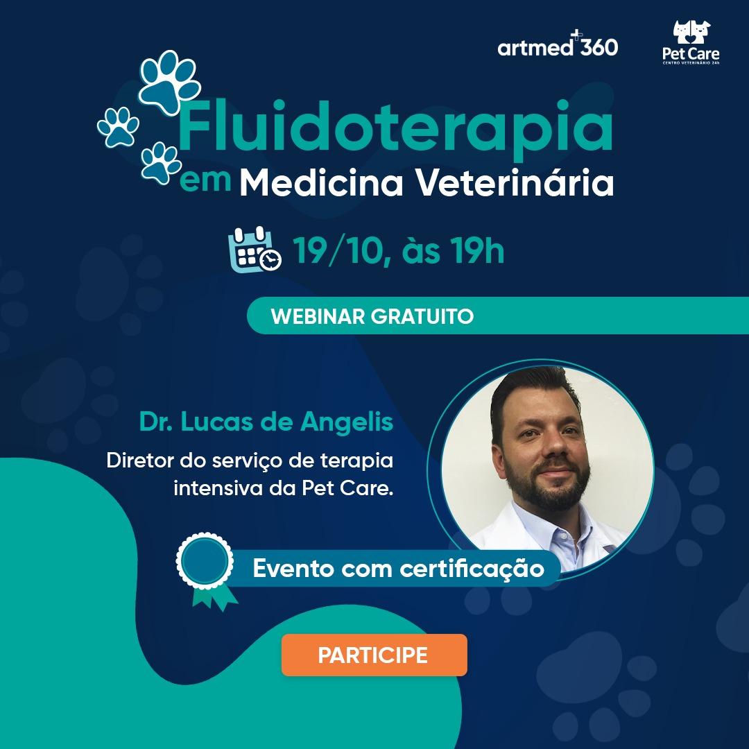 whatsapp image 2021 09 21 at 11 23 06 - Webinar Gratuito: Fluidoterapia em Medicina Veterinária
